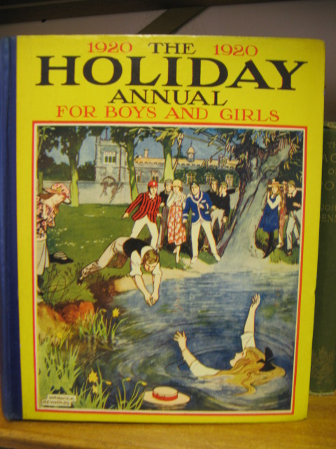 Image for The Holiday Annual for Boys and Girls: 1920
