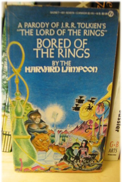 Image for Bored of the Rings: A Parody of J. R. R. Tolkien's The Lord of the Rings (Signet)