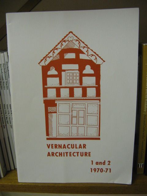 Image for Vernacular Architecture, Volumes 1 and 2, 1970-71