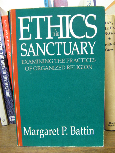 Image for Ethics in the Sanctuary: Examining the Practices of Organized Religion