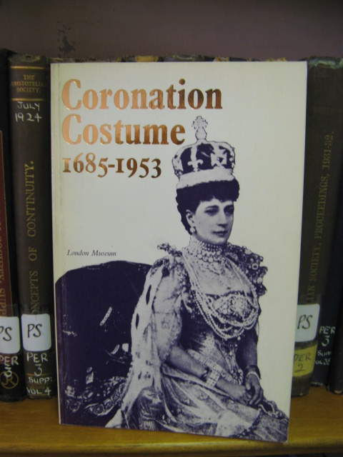 Image for Coronation Costume 1685-1953