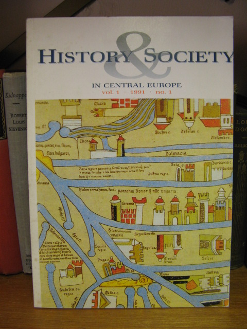 Image for History & Society in Central Europe: Vol. 1, No. 1, 1991