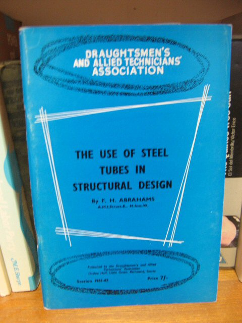 Image for The Use of Steel Tubes in Structural Design