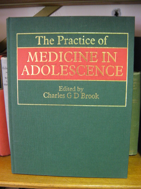 Image for The Practice of Medicine in Adolescence