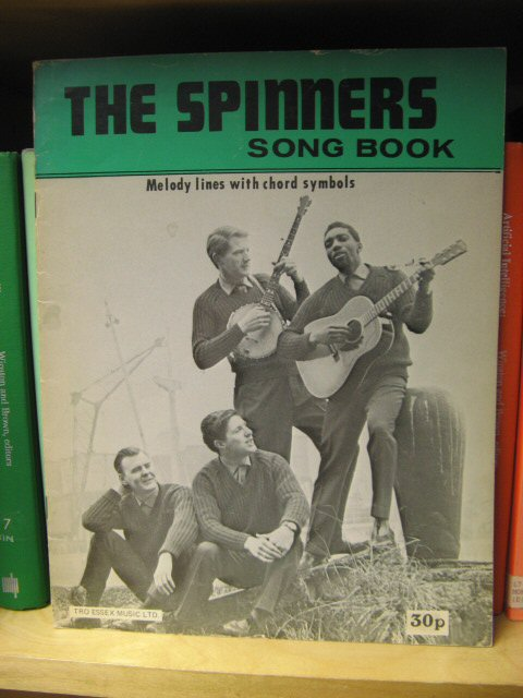 Image for The Spinners Song Book: Melody Lines with Chord Symbols