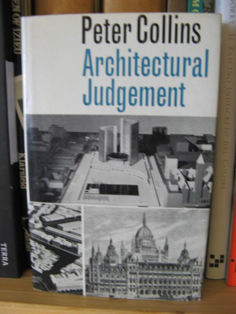 Image for Architectural Judgement