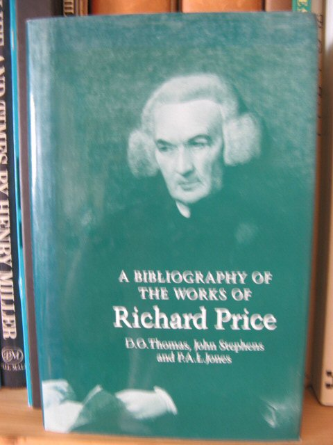 Image for A Bibliography of the Works of Richard Price