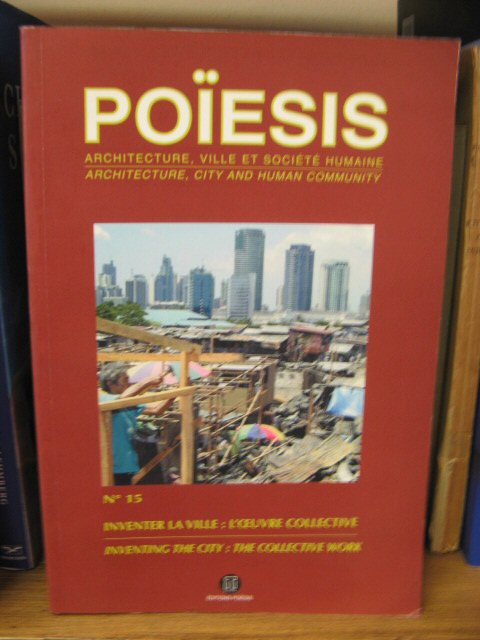 Image for Poiesis: Architecture, City and Human Community