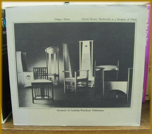 Image for Charles Rennie Mackintosh as a Designer of Chairs