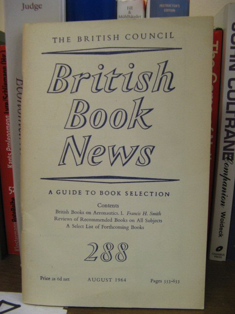 Image for British Book News, Number 288, August 1964