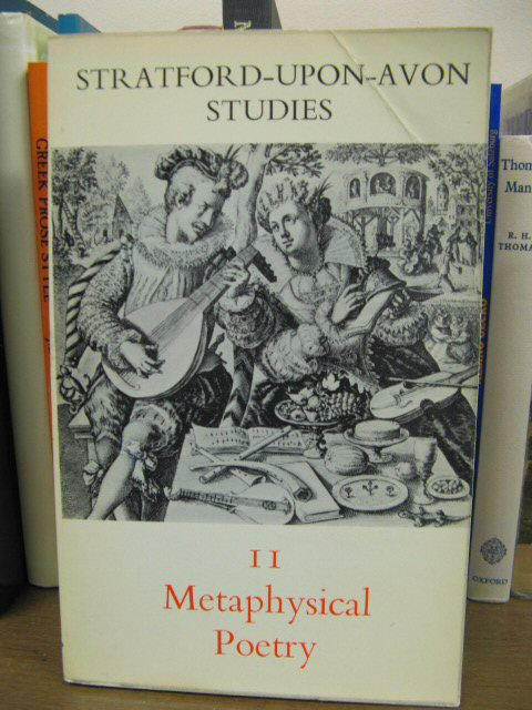 Image for Metaphysical Poetry (Stratford-upon-Avon Studies 11)