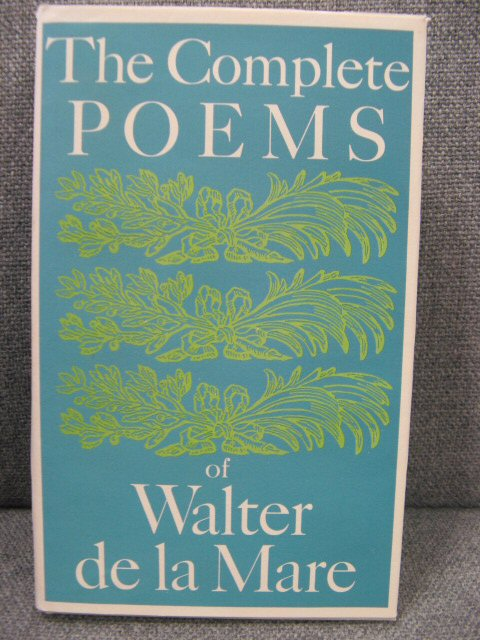 Image for The Complete Poems of Walter de la Mare