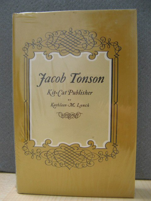 Image for Jacob Tonson: Kit-Cat Publisher