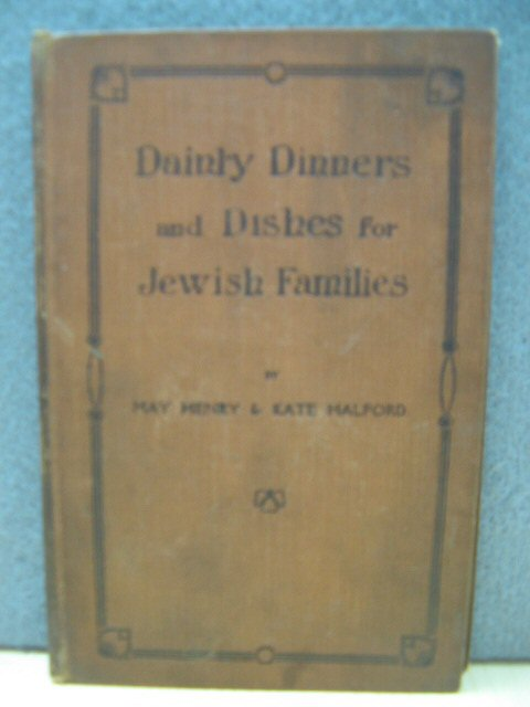 Image for Dainty Dinners and Dishes for Jewish Families