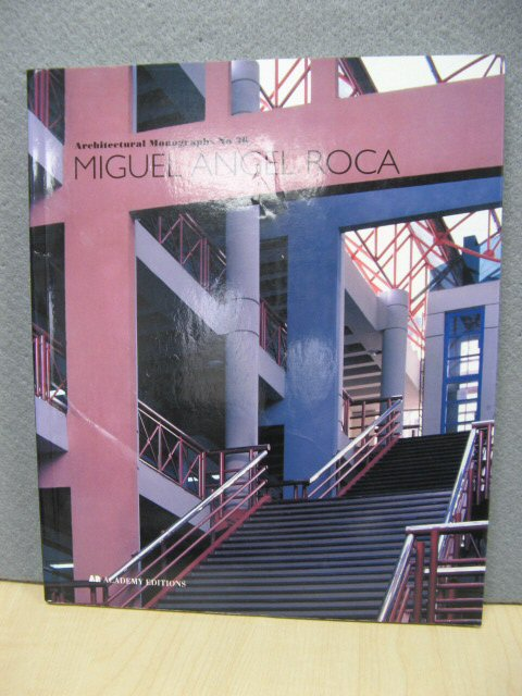 Image for Miguel Angel Roca (Architectural Monographs No 36)