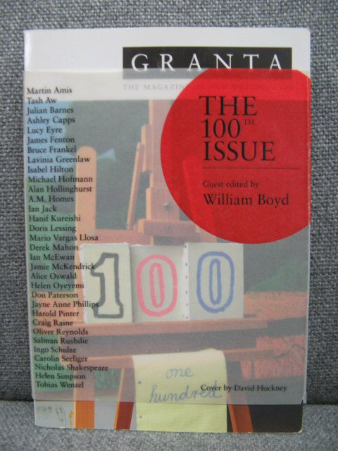 Image for Granta 100: The Magazine of New Writing (The 100th issue)