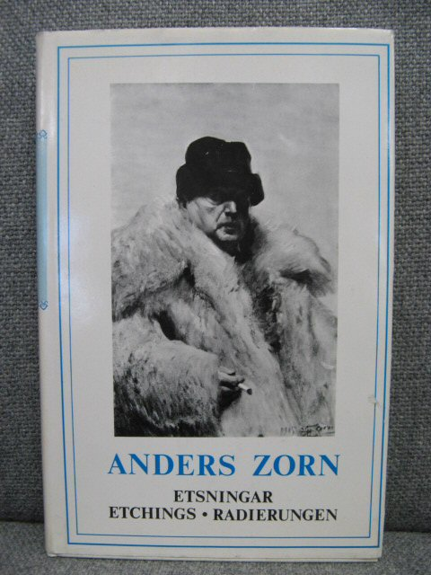 Image for Anders Zorn: Etsningar: Etchings: Radierungen