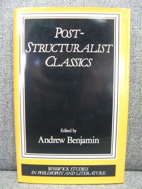 Image for Post-Structuralist Classics