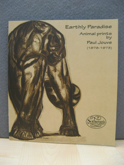 Image for Earthly Paradise: Animal Prints By Paul Jouve (1878 - 1973)