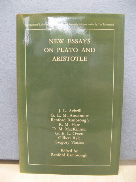 Image for New Essays on Plato and Aristotle