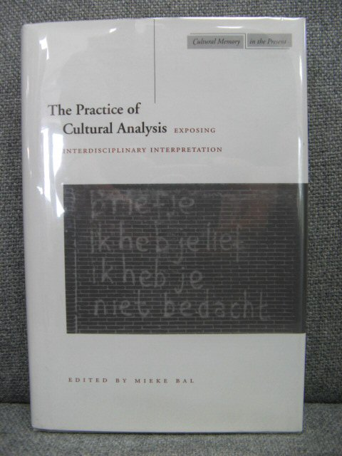 Image for The Practice of Cultural Analysis