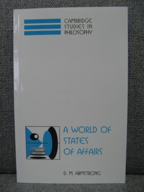 Image for A World of States of Affairs