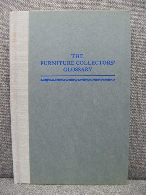 Image for The Furniture Collectors' Glossary: Volume 8