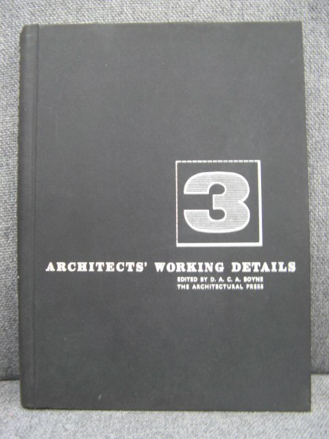 Image for Architects' Working Details: Volume 3