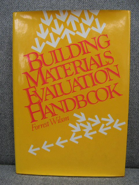 Image for Building Materials Evaluation Handbook