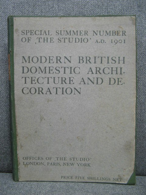 Image for Modern British Domestic architecture and Decoration: Special Summer Number of The Studio A.D. 1901