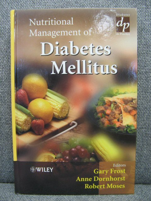 Image for Nutritional Management of Diabetes Mellitus