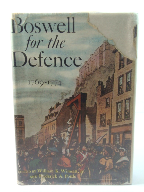 Image for Boswell for the Defence, 1769-1774
