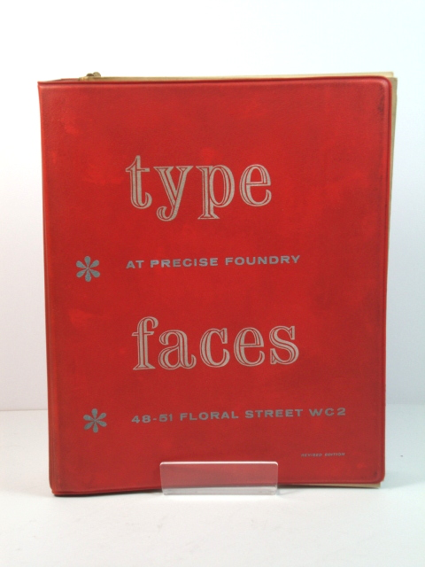 Image for Type Faces at Precise Foundry