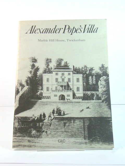 Image for Alexander Pope's Villa: Marble Hill House, Twickenham