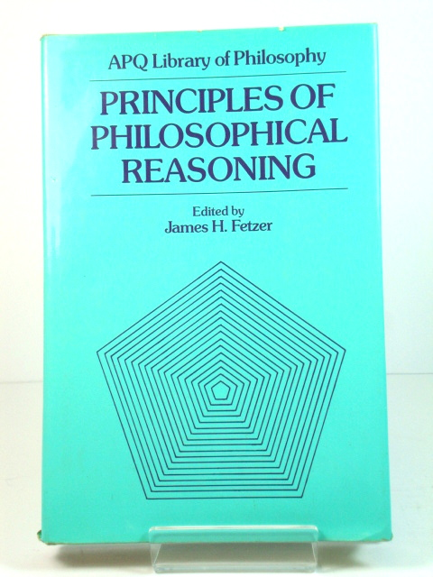 Image for Principles of Philosophical Reasoning