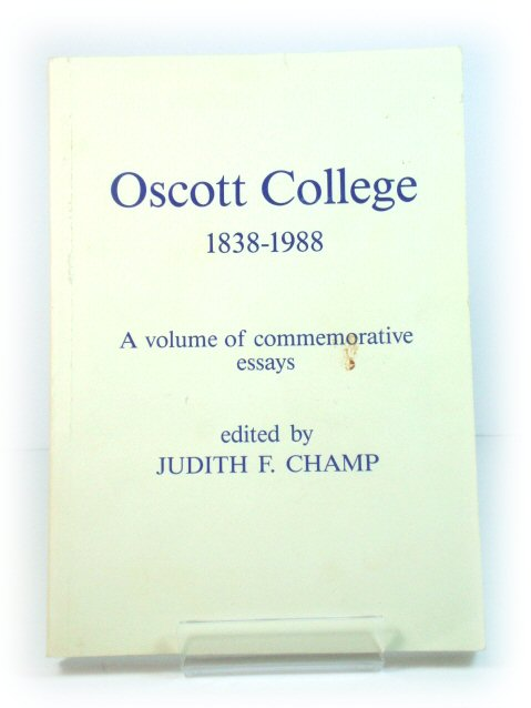 Image for Oscott College, 1838-1988: A Volume of Commemorative Essays