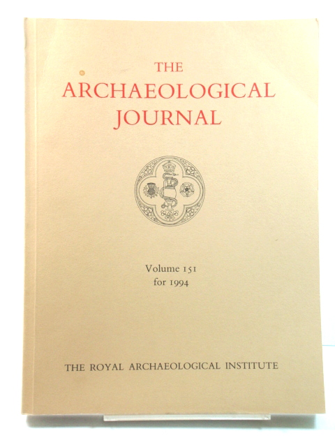 Image for The Archaeological Journal: Volume 151 for the Year 1994