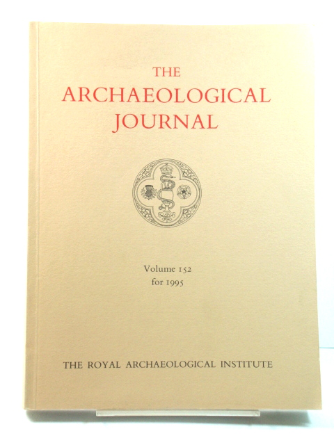 Image for The Archaeological Journal: Volume 152 for the Year 1995