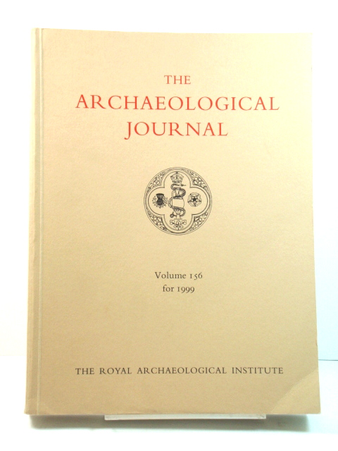 Image for The Archaeological Journal: Volume 156 for the Year 1999