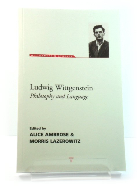 Image for Ludwig Wittgenstein: Philosophy and Language