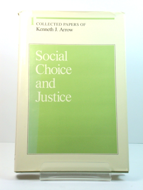 Image for Social Choice and Justice