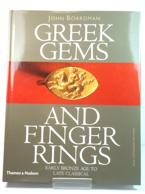 Image for Greek Gems and Finger Rings: Early Bronze Age to Late Classical