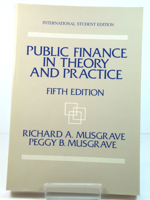 Image for Public Finance in Theory and Practice