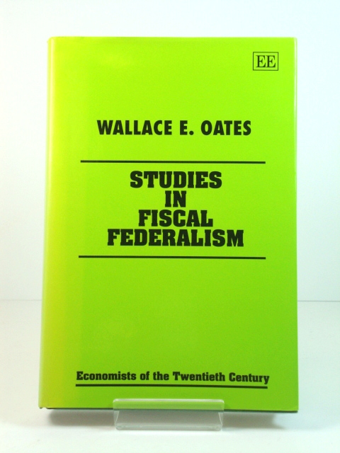 Image for Studies in Fiscal Federalism