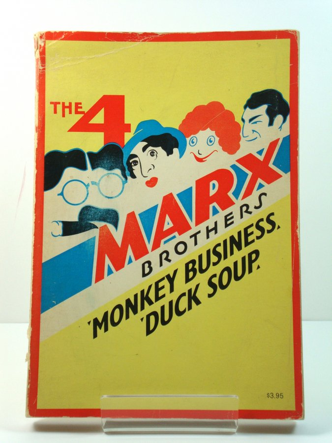 Image for Classic Film Scripts: The Four Marx Brothers in 'Monkey Business' and 'Duck Soup'
