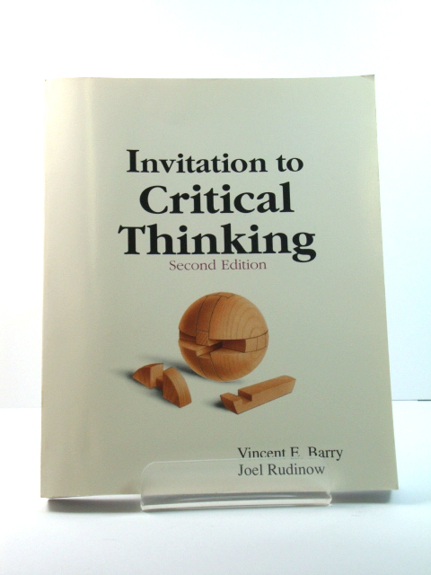 Image for Invitation to Critical Thinking