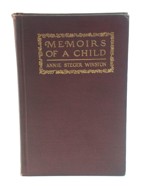 Image for Memoirs of a Child