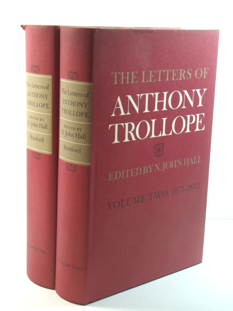 Image for The Letters of Anthony Trollope