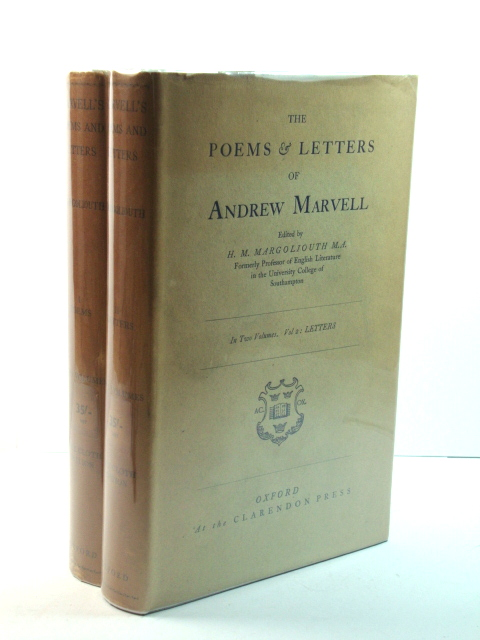 Image for The Poems & Letters of Andrew Marvell in Two Volumes