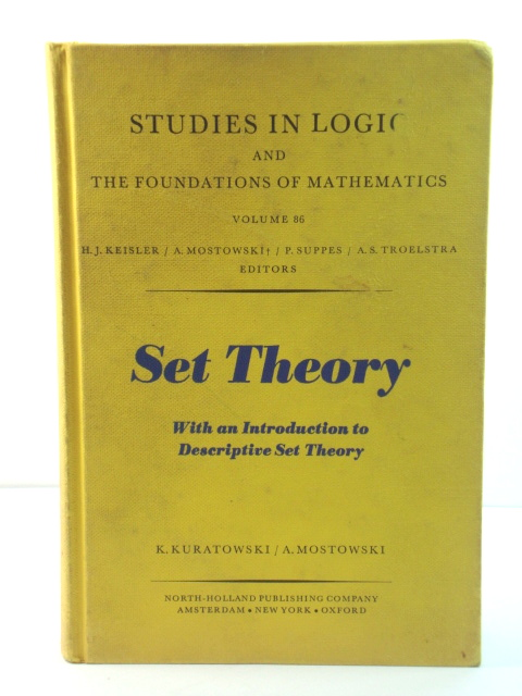 Image for Set Theory, with an Introduction to Descriptive Theory